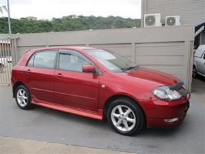 2003 Toyota RunX 160 RX