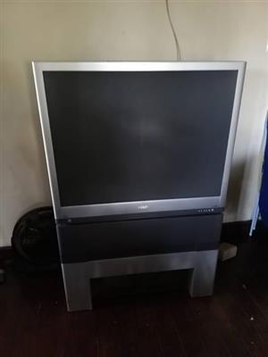Philips match line projection tv for sale