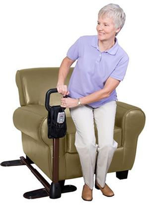 Stander CouchCane ,Ergonomic Safety Support Handle ,Adjustable Living Room Standing Aid for Chair