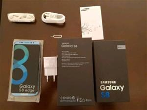 Original Samsung galaxy S8 with Complete accessories