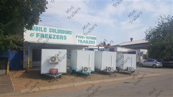 Mobile Chillers and Coldrooms for Sale