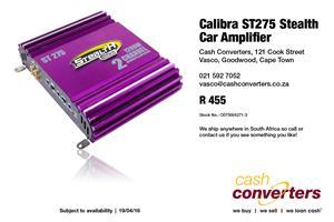 Calibra ST275 Stealth Car Amplifier