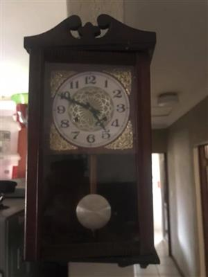 Wooden wall clock for sale