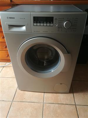 Bosch 8kg front loader washing machine silver