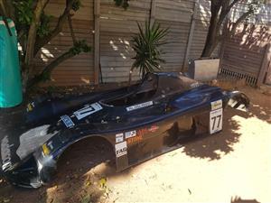 Racing car shell