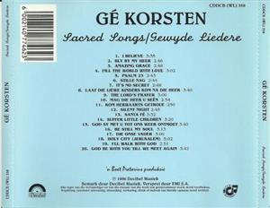 CD's van Gister no 33 to 42