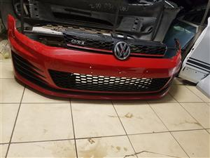 GOLF 7 GTI COMPLETE FRONT BUMPER AND GRILL FOR SALE