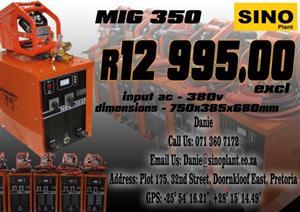 Mig 350 welder New