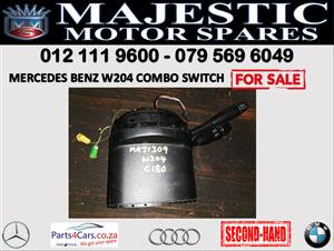 Mercedes benz W204 combination switch for sale 2007