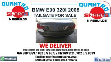 BMW E90 320i 2008 tailgate for sale