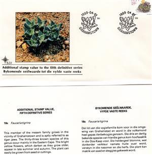 Commemorative Stamp & Envelope Set - 1989