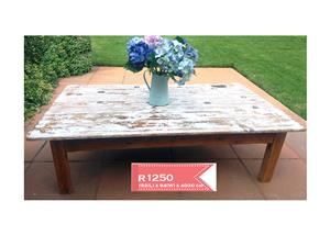 Very large coffee table - farmhouse style