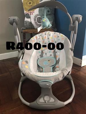 Rocker chair with mobile for sale