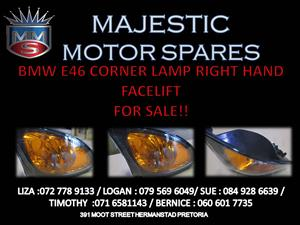 BMW E46 CORNER LAMP RIGHT HAND SIDE FOR SALE
