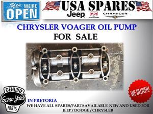 chrysler voyager 3.3 oil pump for sale