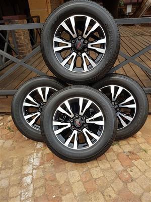 Isuzu wheels