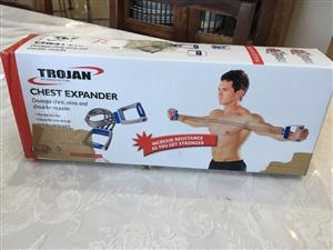 Trojan Chest expander - an easy way to build upper body muscles!