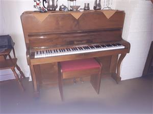 Buckland Upright Piano - R8000.00 neg.