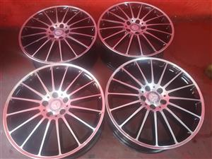 mercedes benz 19inch mag rims for sale