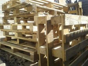 Wooden Pallets used