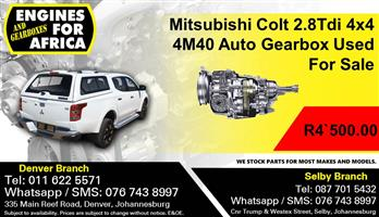 Mitsubishi Colt 2.8Tdi 4x4 4M40 Auto Gearbox Used For Sale.