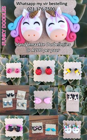 Handmade earrings 4 sale
