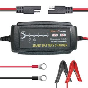 12V 7 Stage 5A Intelligent Battery Charger