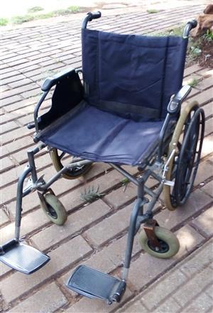 Extra Wide heay Duty Wheel Chair