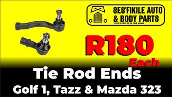Tie rod ends for Golf 1, Tazz, mazda 323.