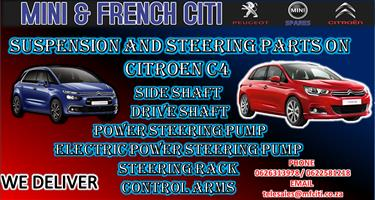 Used Suspension Parts And steering parts for. Citroen C4