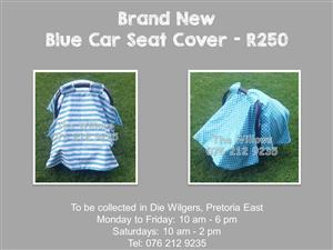 Brand New Blue Car Seat Cover