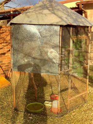 I have 2 x out side bird cages for sale