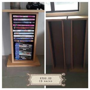 Wooden cd racks for sale