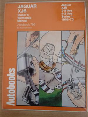 Autobook 700 Jaguar XJ6 Owners Workshop Manual