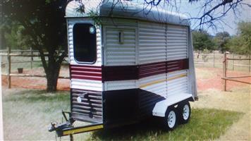 Two Birth Horsebox Horse trailer in Hartbeespoort