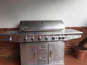 8 burner Le Classique gas braai for sale