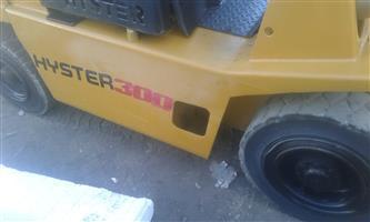 Hyster Forklift 3 Tonne For Sale