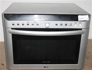 LG solardom microwave silver S037903A #Rosettenvillepawnshop