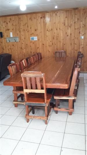 12 Seater dining room set