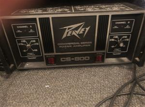 Peavey CS 800 Power Amplifier c.1981