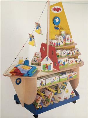 Book self or display Ship/Boat for playroom and game display
