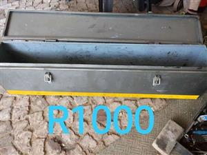 Long steel toolbox for sale
