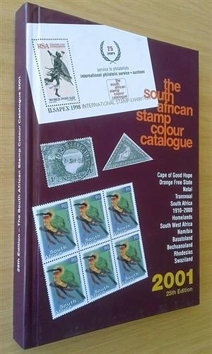 The South African stamp colour catalogue 2001.