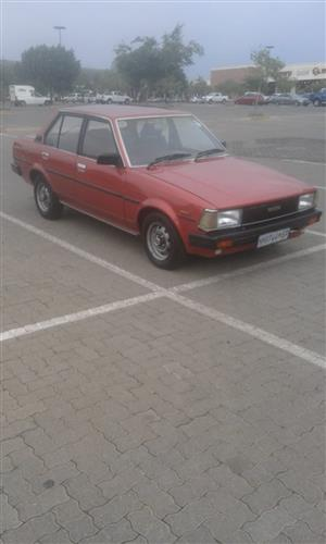 1984 Toyota Corolla 1.8 Exclusive auto