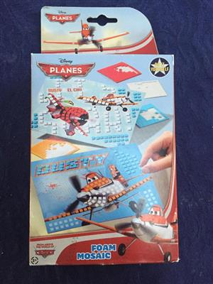 Disney Planes Foam mosaic set - new and unused - priced to clear!