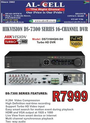 Hikvision 16 Channel 1080p DVR DS-7316HQHI-SH