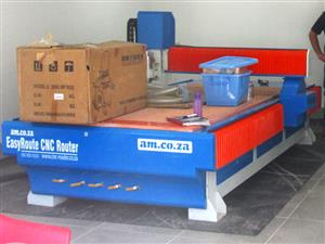 R-2030LC/50 EasyRoute 380V Lite 2050x3050mm Aluminium T-Slot Clamping CNC Router, 5kW