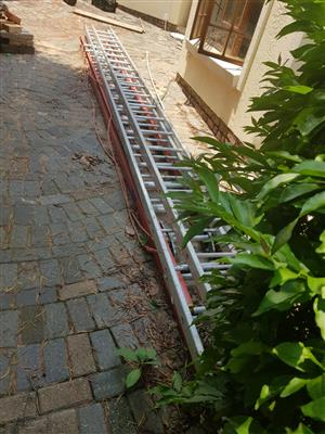 6m extended ladders to 11m for sale