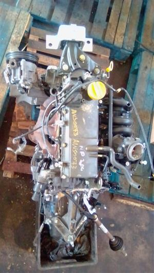 NISSAN NP200 1.6 8V PETROL ENGINE 1