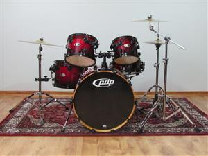 SALE ! WAS R13000 NOW R11300 BIRCHWOOD PDP intermediate (owned by DW)BX Lacquer finish Drumset